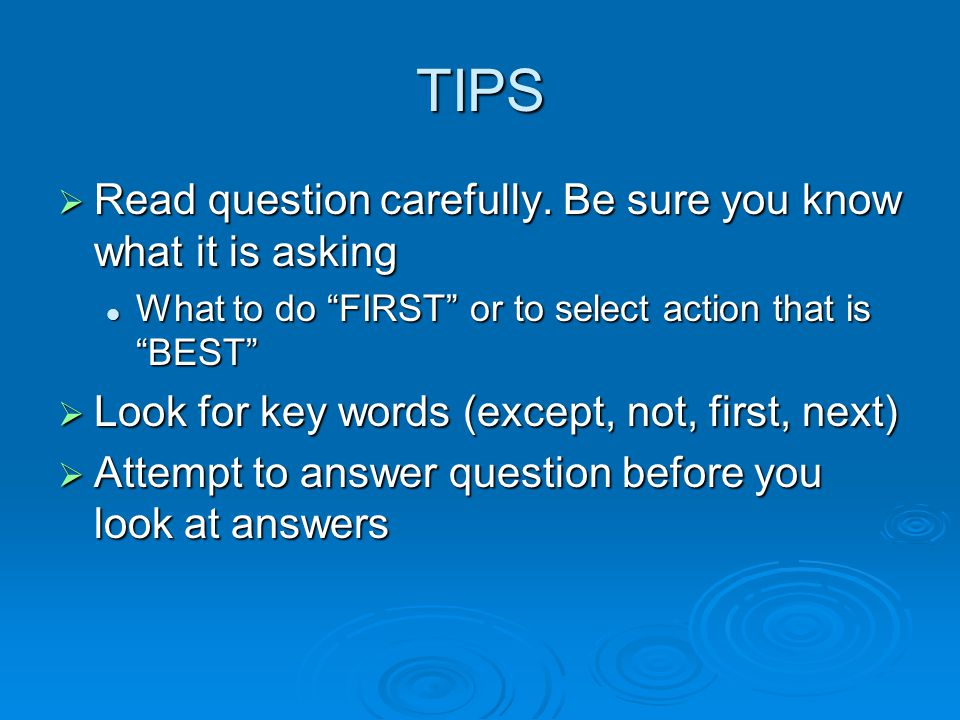 16 NCLEX Test Taking Tips for NCLEX 2016